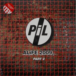 PUBLIC IMAGE LTD Alife 2009 - part 2 LP