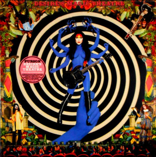 PURSON desire's magic theatre LP