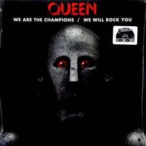 QUEEN we are the champions 12""