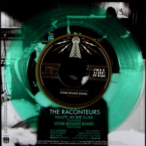 """RACONTEURS, THE steady as she goes - col vinyl 7"""""""