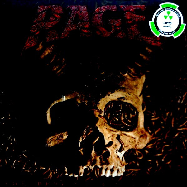 RAGE the devil strikes again LP