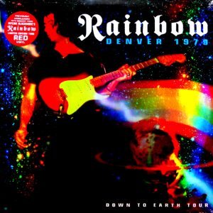 RAINBOW denver 1979 - down to earth tour LP