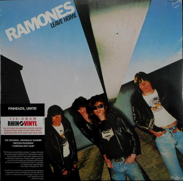 RAMONES leave home LP