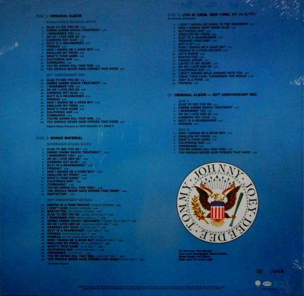 RAMONES leave home - deluxe box set CD