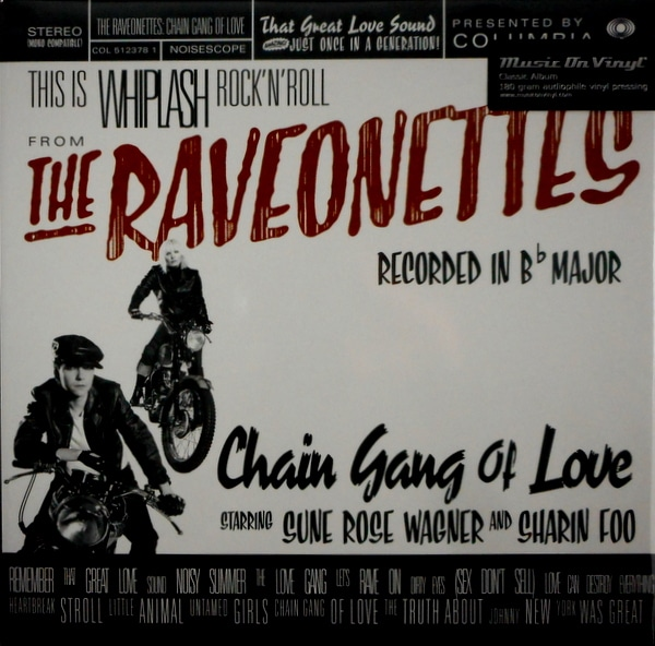 RAVEONETTES, THE chain gang of love LP