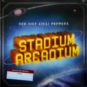 RED HOT CHILI PEPPERS stadium arcadium - box set LP