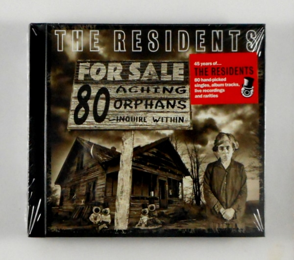 RESIDENTS, THE 80 aching orphans CD