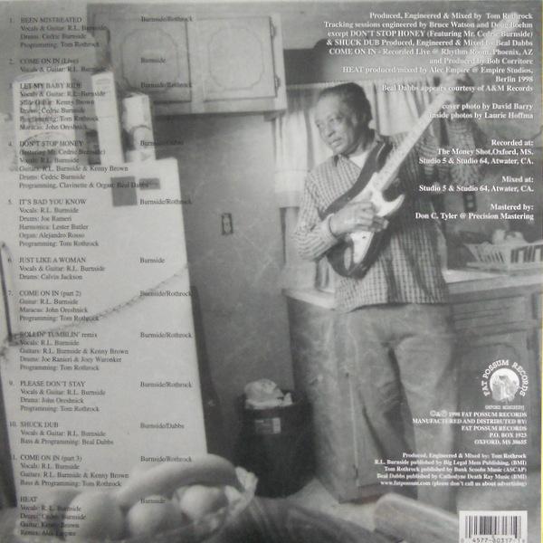 BURNSIDE, R.L. come on in LP back