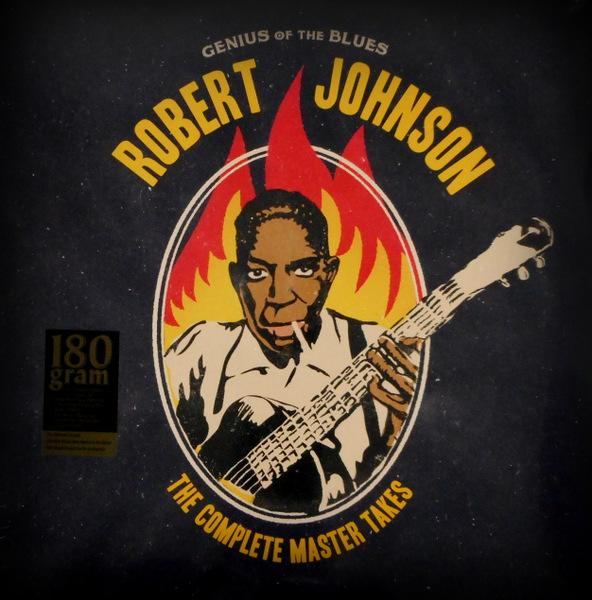 JOHNSON, ROBERT genius of the blues LP