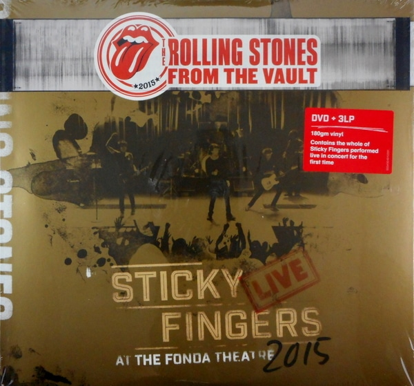 ROLLING STONES, THE sticky fingers live at the fonda theatre - deluxe lp LP