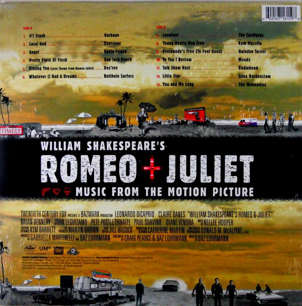 VARIOUS ARTISTS romeo and juliet LP