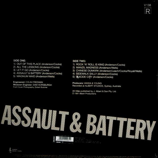 ROSE TATTOO assault & battery LP