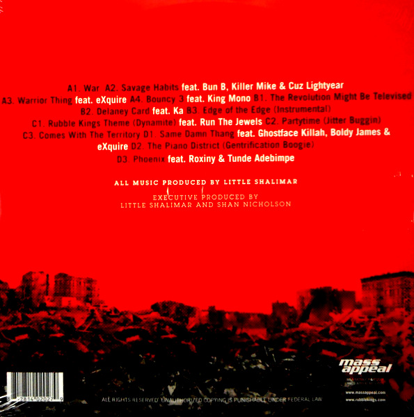 VARIOUS ARTISTS rubble kings LP