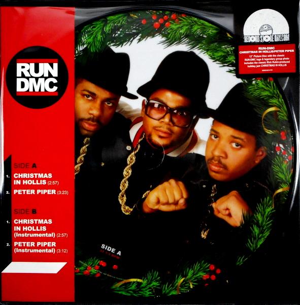 "RUN D.M.C. christmas in hollis - pic disc 12"""