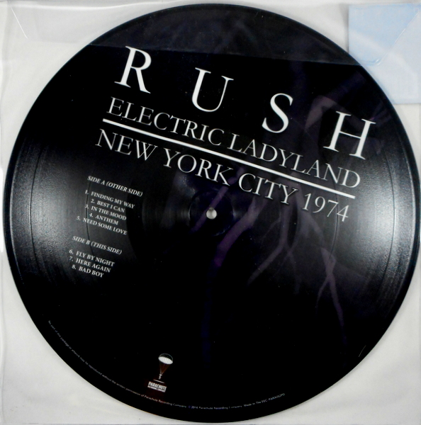 RUSH electric ladyland - pic disc LP