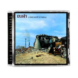 RUSH farewell to kings CD