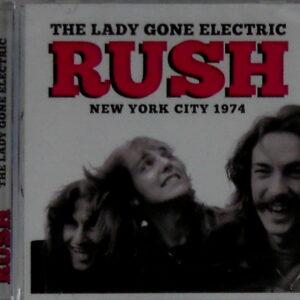 RUSH new york city 1974 CD
