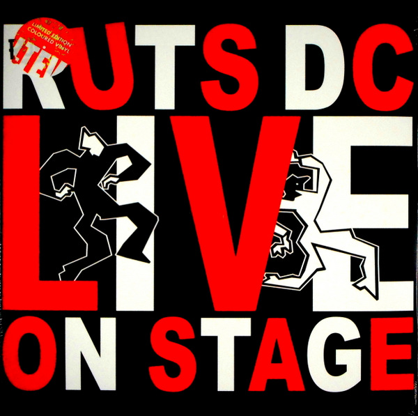RUTS DC, THE live on stage LP