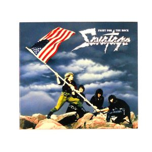 SAVATAGE fight for the rock CD