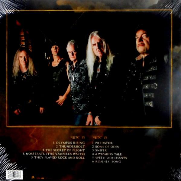 SAXON thunderbolt - col vinyl LP