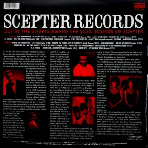 VARIOUS ARTISTS scepter records out in the street LP