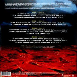 SCORPIONS acoustica LP