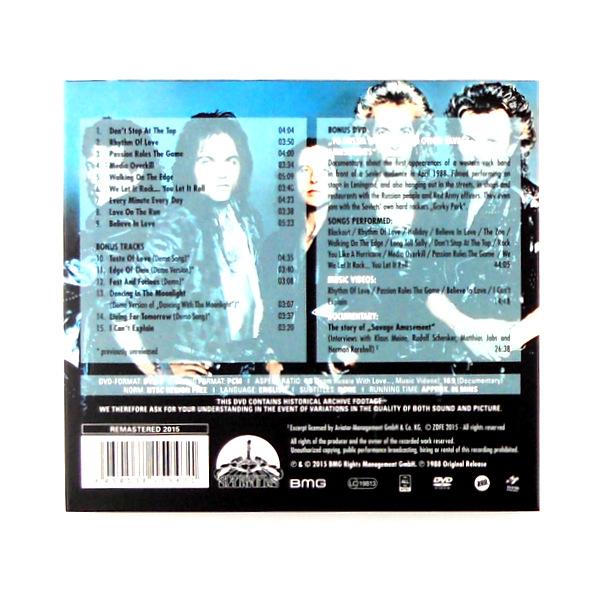 SCORPIONS savage amusement - deluxe cd