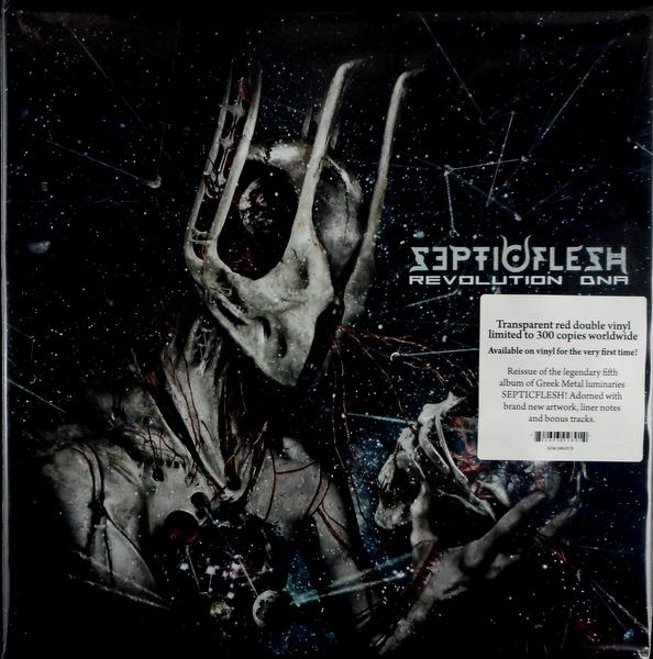 SEPTIC FLESH revolution dna - red vinyl LP