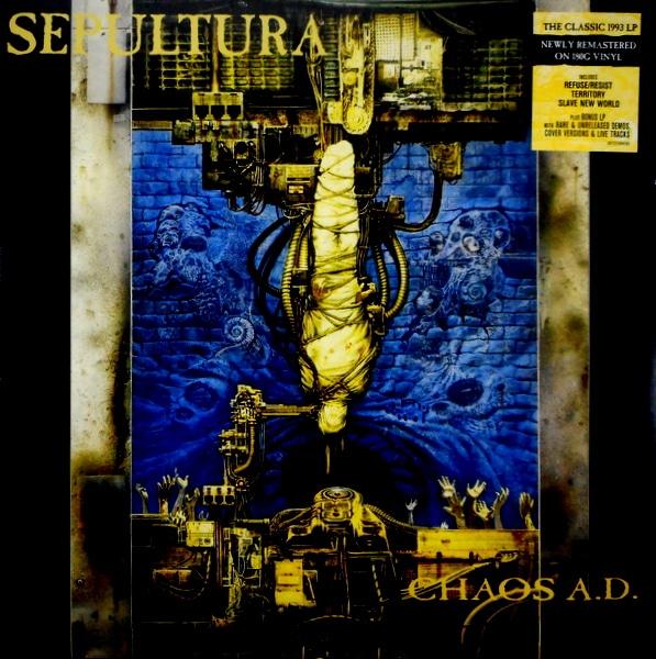 SEPULTURA Chaos A.D. LP