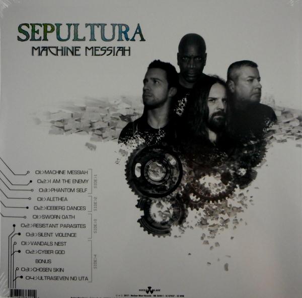 SEPULTURA machine messiah LP