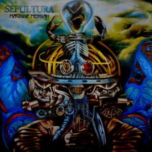 SEPULTURA machine messiah - pic disc LP