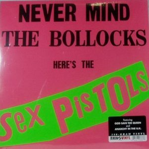 sex pistols never mind the bollocks lp