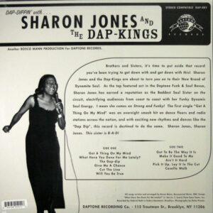 JONES, SHARON & THE DAP-KINGS dap dippin' with LP back