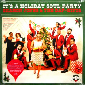 JONES, SHARON & THE DAP-KINGS it's a holiday soul party LP