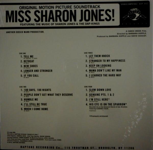 JONES, SHARON & THE DAP-KINGS miss sharon jones LP