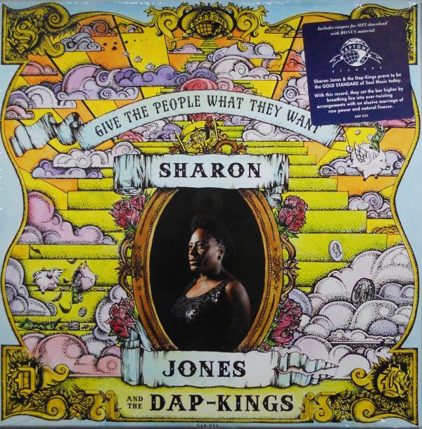 sharon jones & the dap kings give the people what they want lp