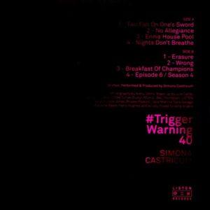 CASTRICUM, SIMONA #trigger warning 40 LP