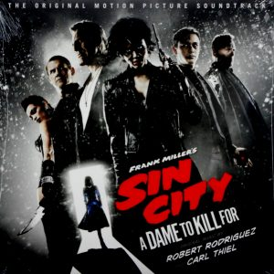 RODRIGUEZ, ROBERT & CARL THIEL sin city 2 - a dame to kill for LP