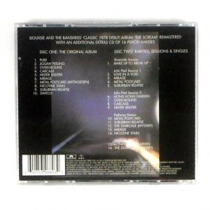 SIOUXSIE AND BANSHEES The Scream - Deluxe CD