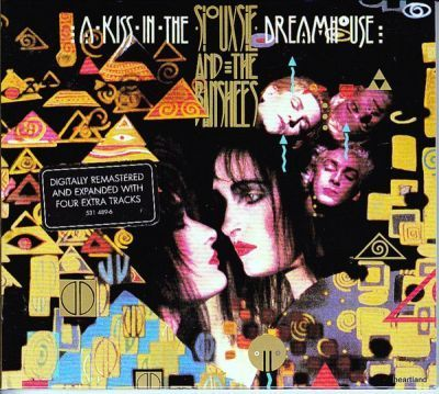 siouxsie and the banshees kiss in the dreamhouse digipak cd