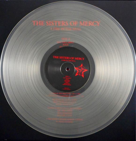 SISTERS OF MERCY, THE a fire in the hull - clear vinyl LP