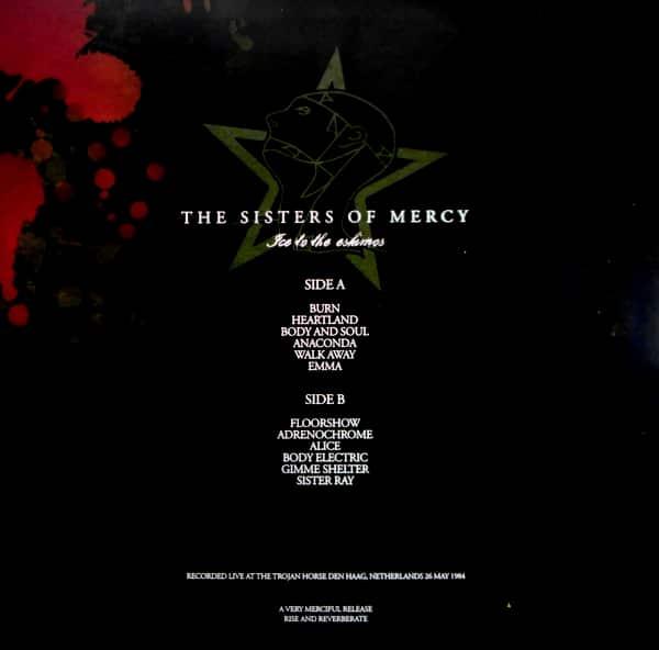 SISTERS OF MERCY, THE ice to the eskimos - orange vinyl LP