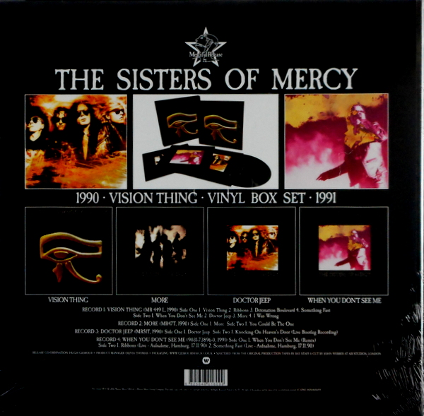 SISTERS OF MERCY, THE vision thing - deluxe box set LP