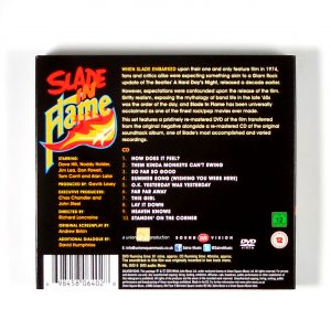 SLADE in flame DVD back