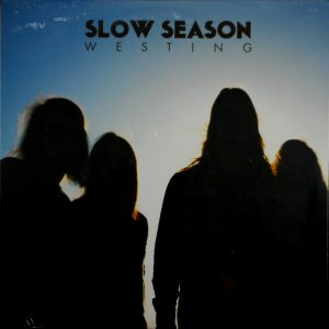 SLOW SEASON westing - blue vinyl LP