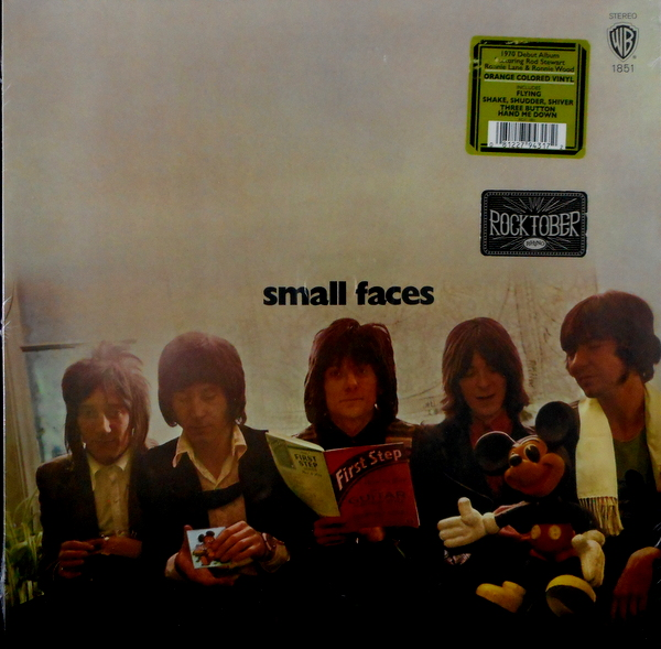 SMALL FACES first step - col vinyl LP