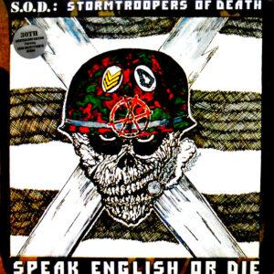 S.O.D. speak english or die - deluxe lp