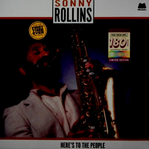 ROLLINS, SONNY here's to the people LP