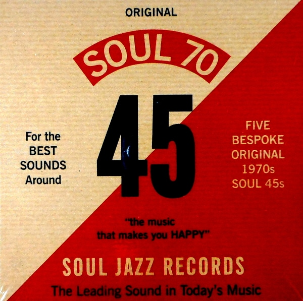 "VARIOUS ARTISTS soul 70 - 7"" box set 7"""