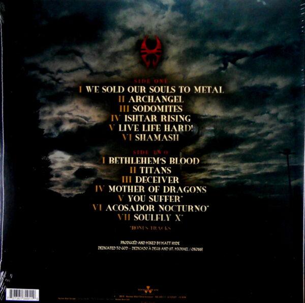 SOULFLY archangel LP back